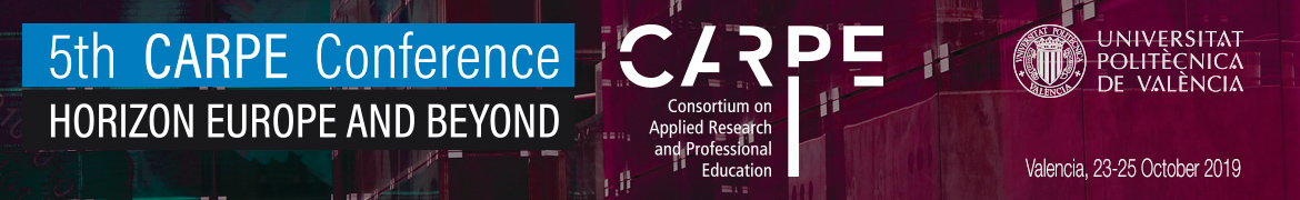 HORIZON EUROPE AND BEYOND – FIFTH CARPE CONFERENCE Logo